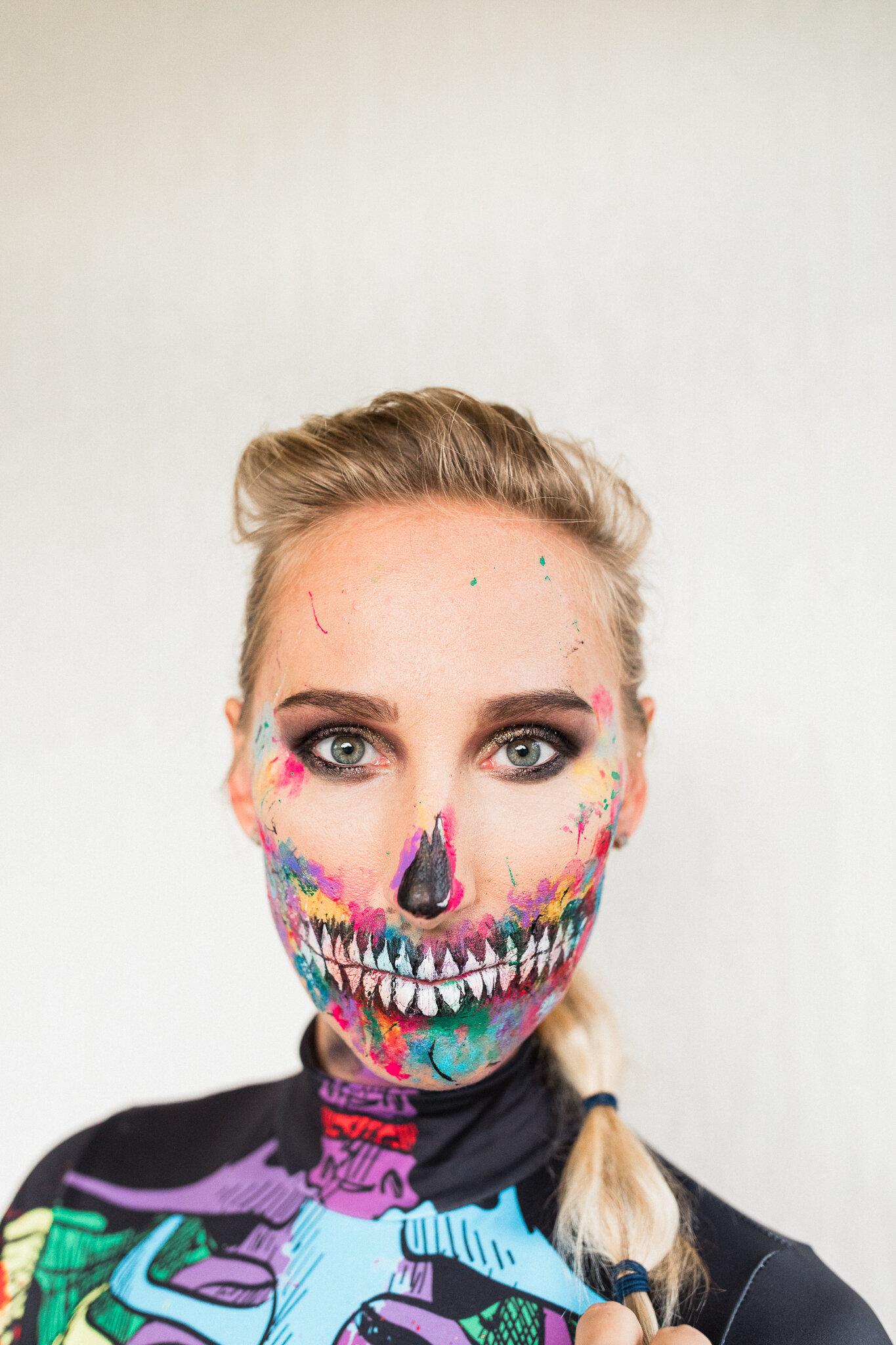 best Halloween skeleton makeup ideas