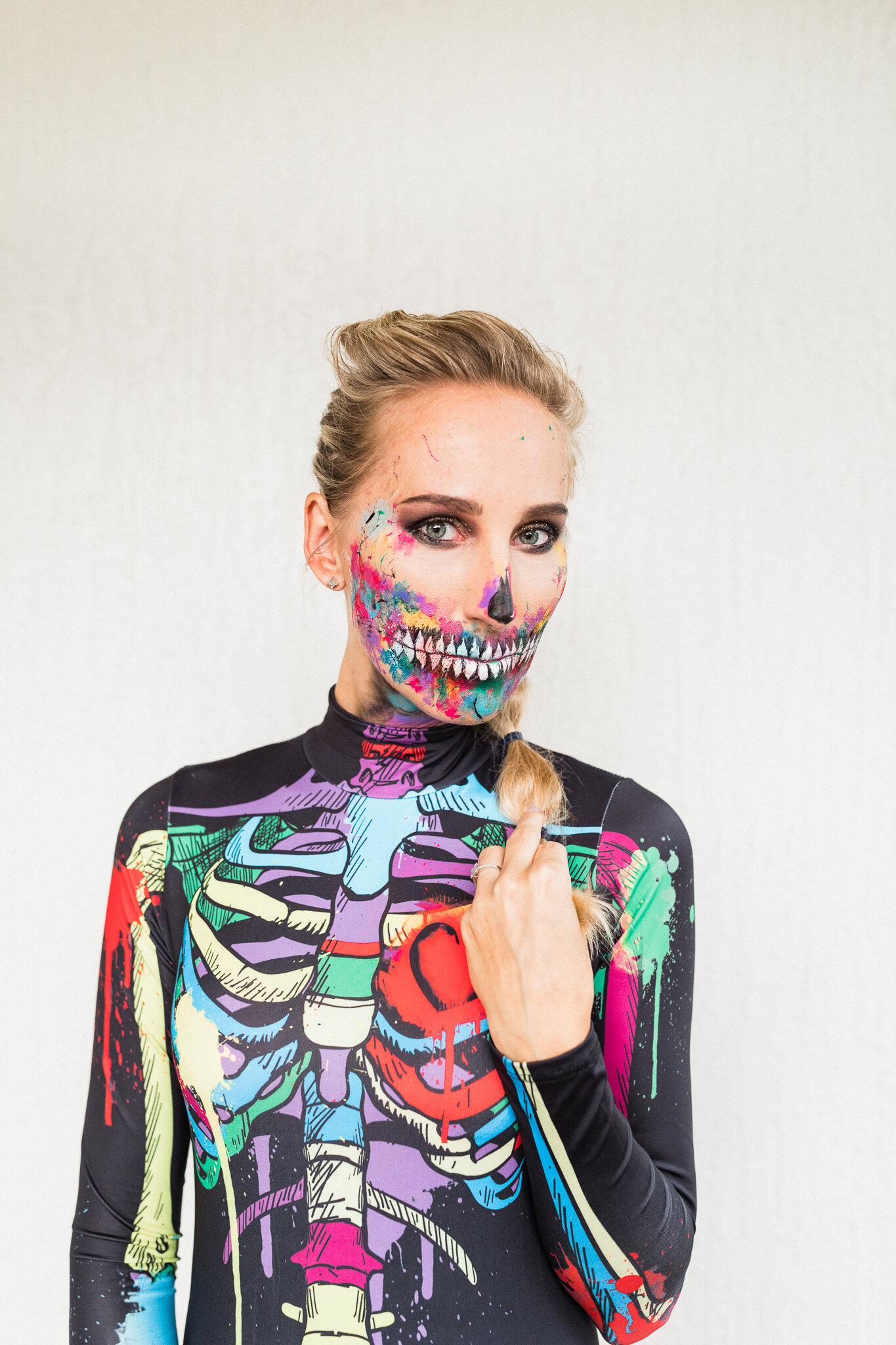 Best Halloween skeleton makeup and outfit ideas