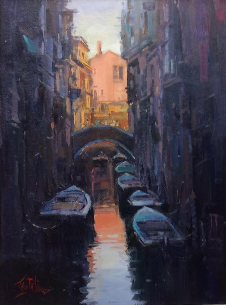 Sunset, Venice