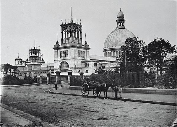 Garden Palace around 1880