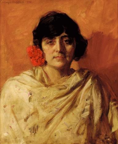 Portrait of Mrs R. C. Broomfield by Sir John Longstaff