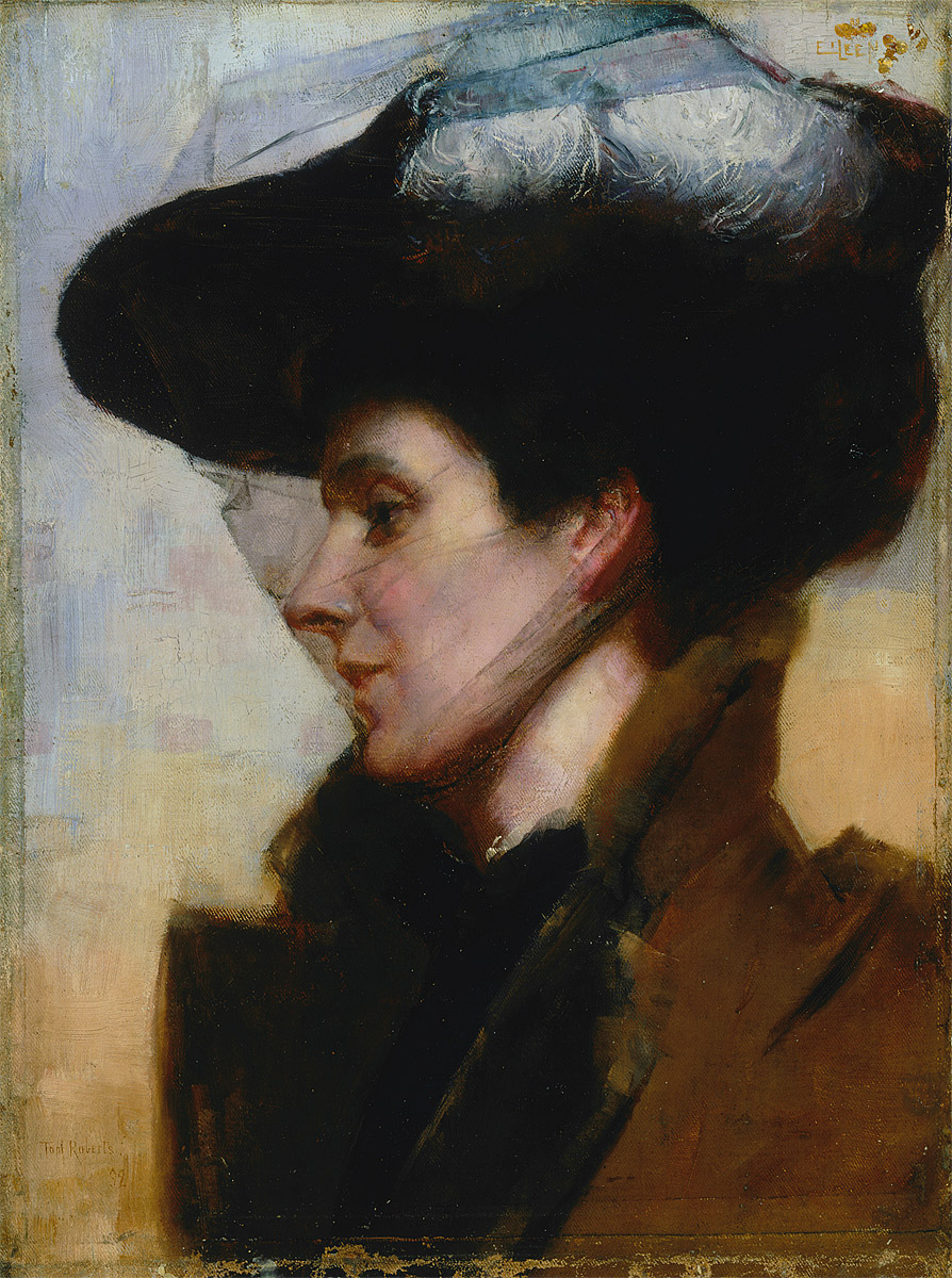 Eileen by Tom Roberts was first exhibited with our Society in 1892 - collection of AGNSW