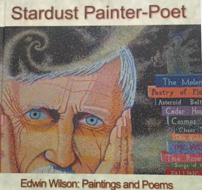 """Stardust"" poetry and artwork, book by Edwin Wilson FRAS, $50"