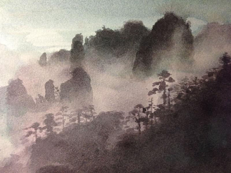 Mountain (Watercolour)