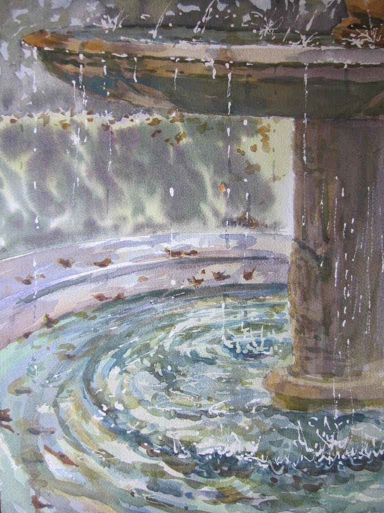 Tuscan Fountain