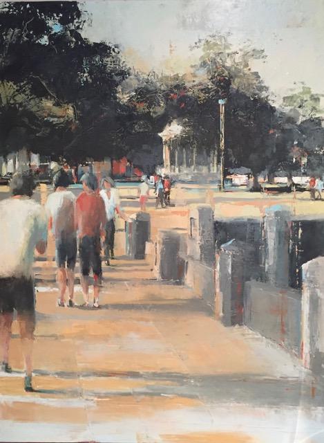 Walking on the Promenade