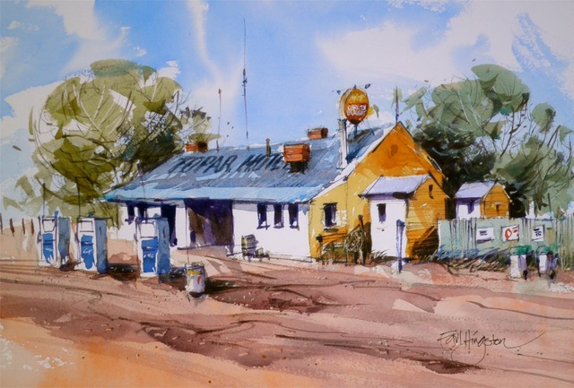 Topar Road House, Outback NSW