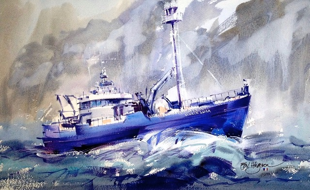 Tuna Boat out of Port Lincoln, SA