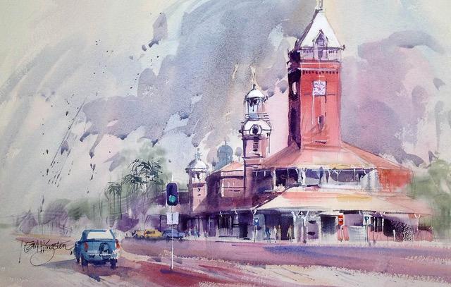 A Corner in Broken Hill, NSW