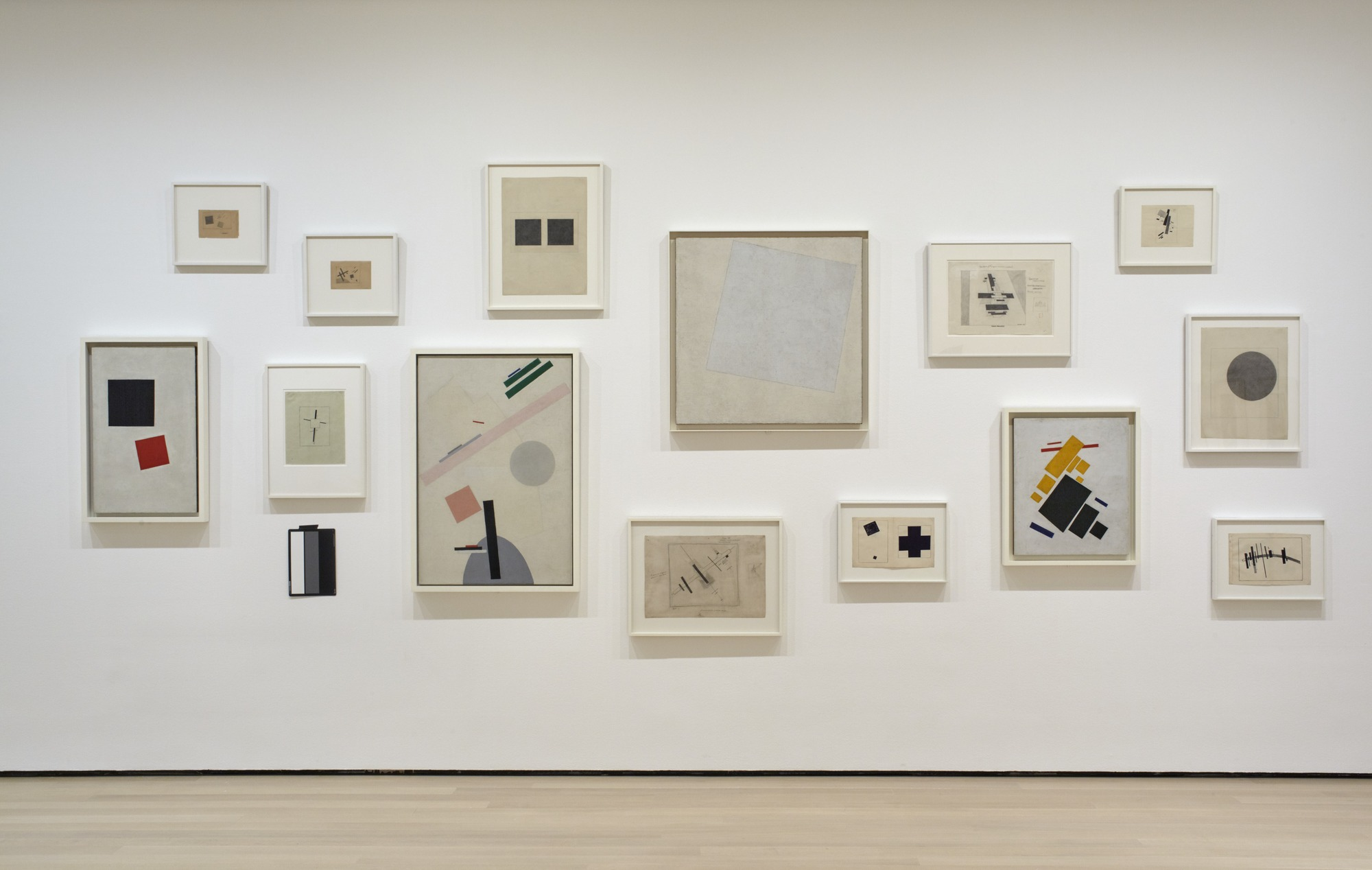Works by Malevich. Image courtesy of MoMA.