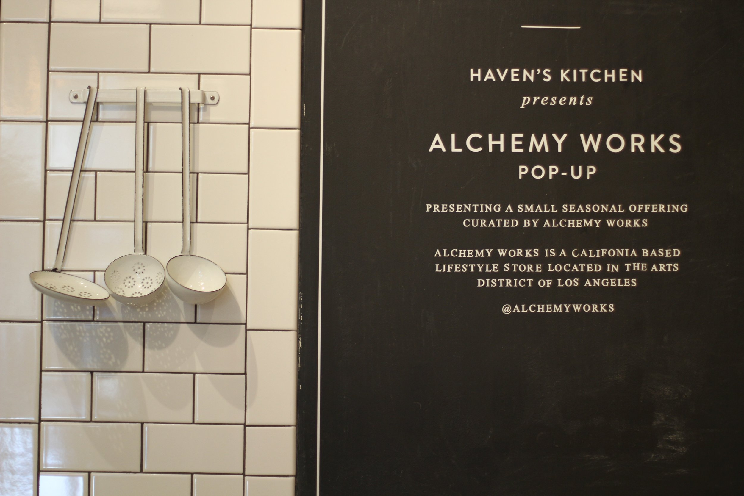 Havens Kitchen x Alchemy Works | RFTP