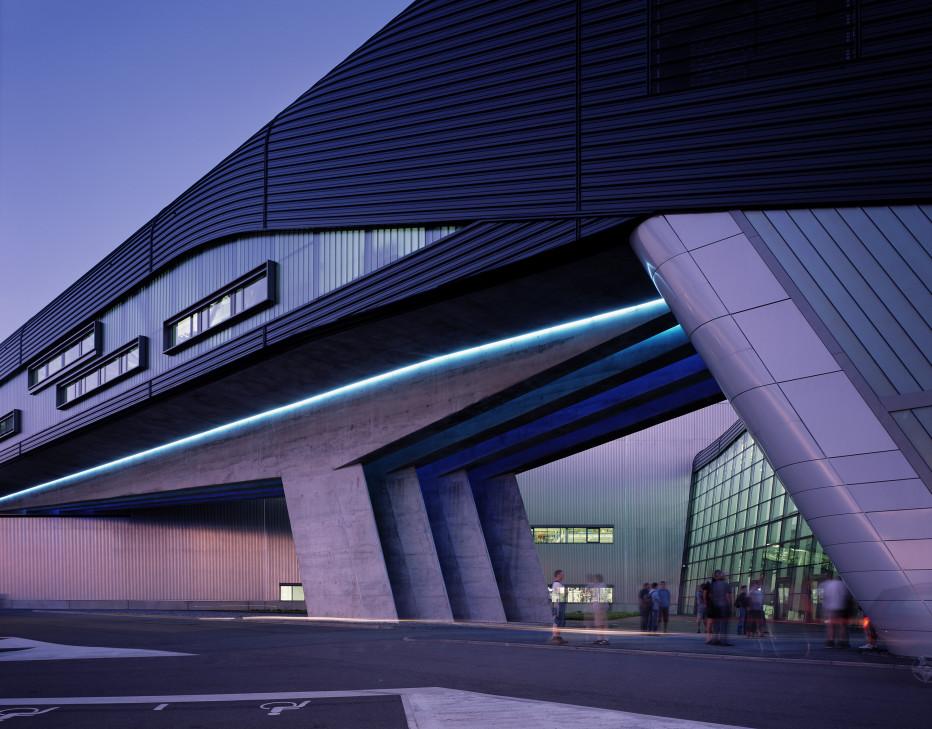 Edificio central de BMW en Leipzig, Alemania