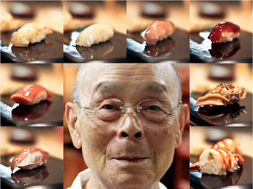 Jiro Dreams of Sushi (2011) - Dirigido por David GelbIMDb: 7.9Rotten Tomatoes: 99%