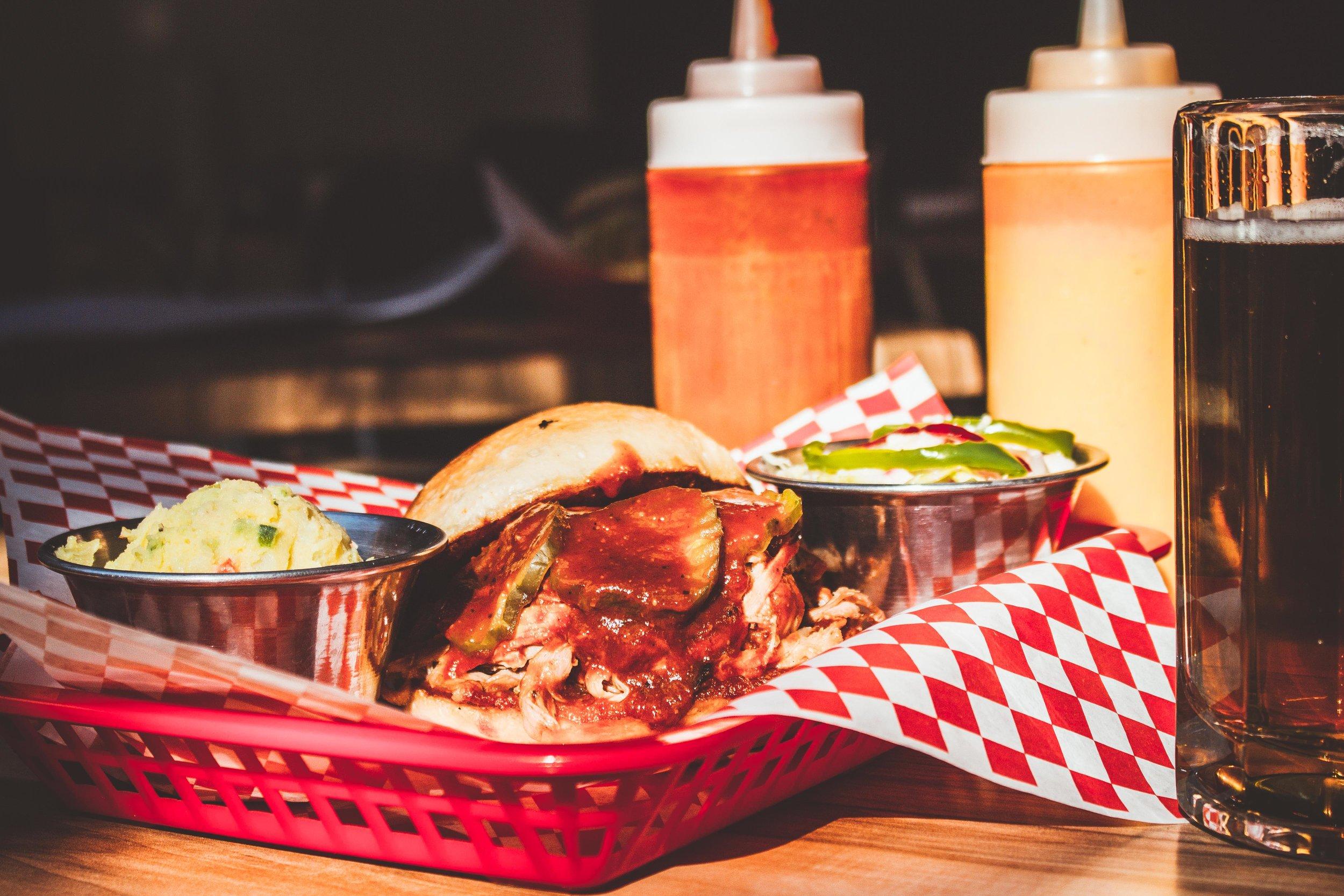 Sandwich de pulled pork