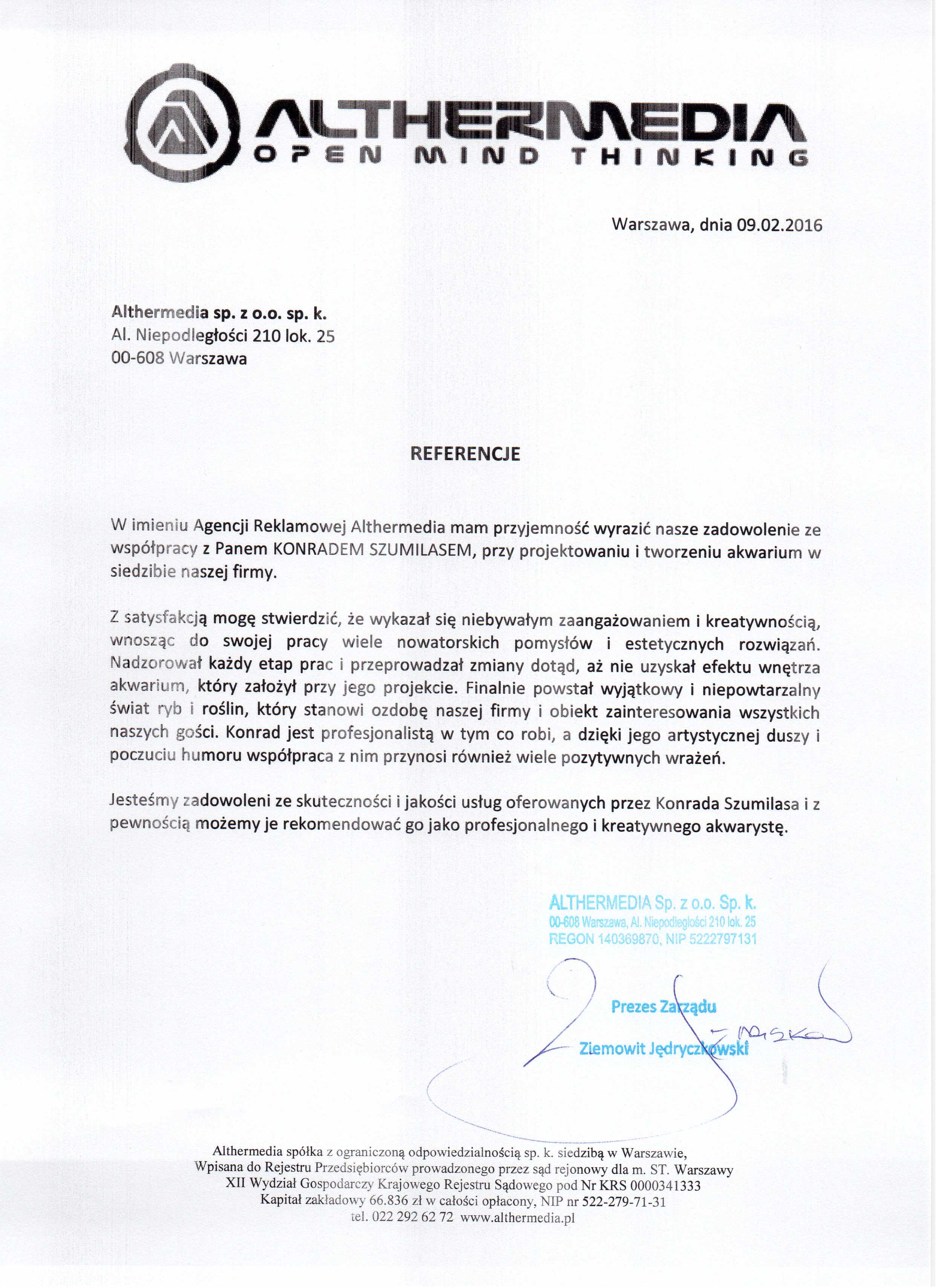 Referencje - Konrad Szumilas - Althermedia 2016.jpg