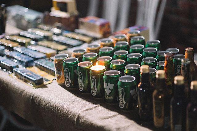 Beer Can Candles // @birakulubu // Yeme İçme İşleri
