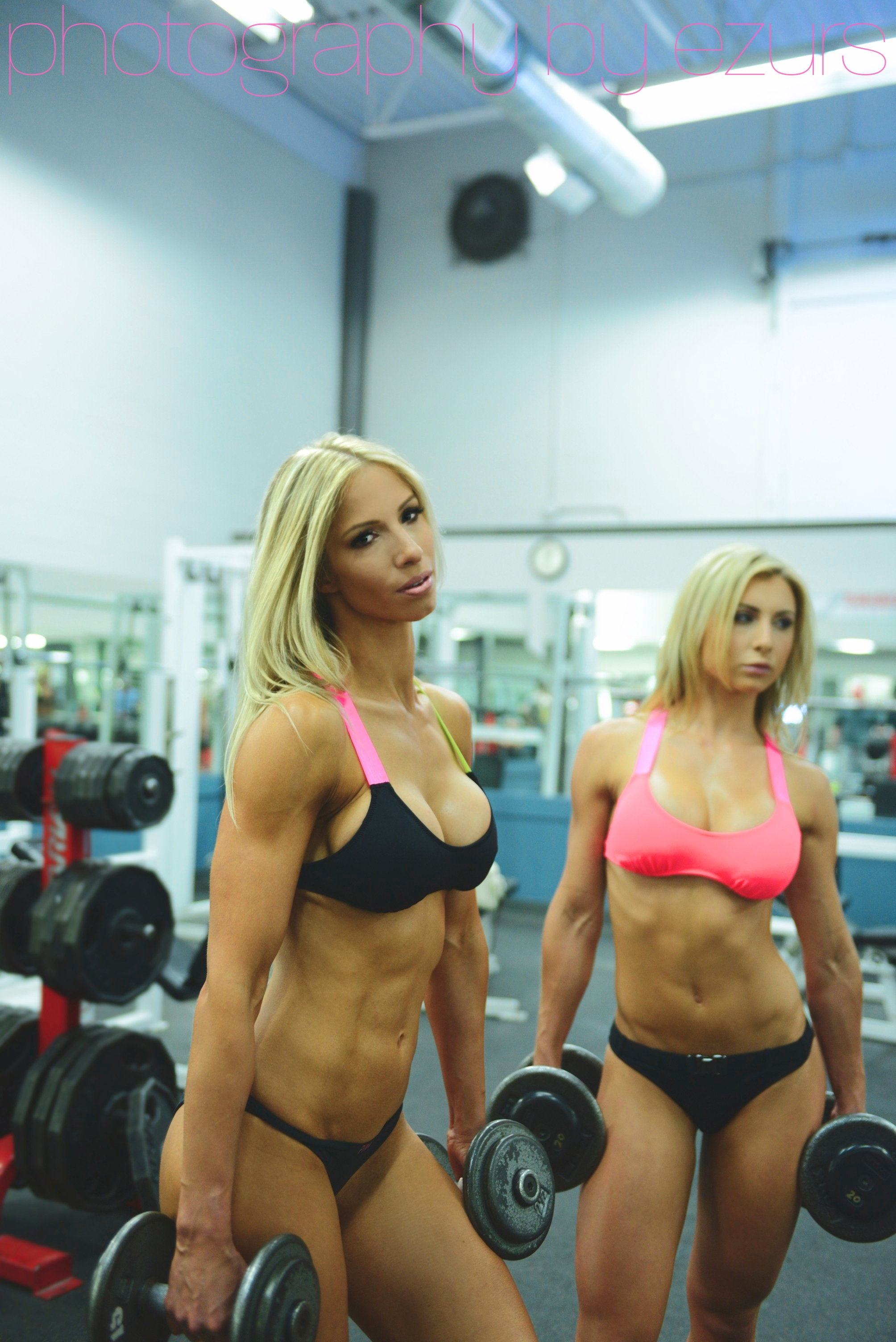 stef and shelagh holding dumbbells.jpg