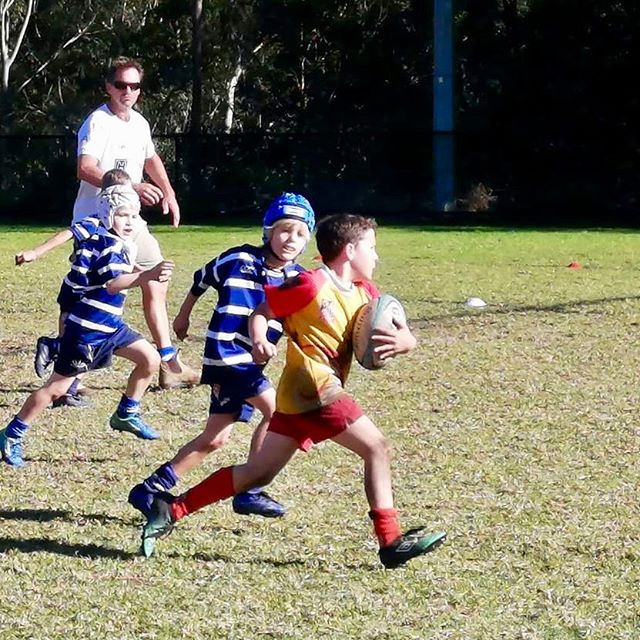 Minis gala day @ljrugby was an amazing day #determined  #juniorrugbyunion #bondibreakers #fortheloveofrugby