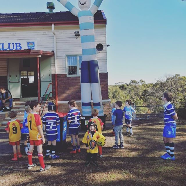 Minis gala day @ljrugby was an amazing day #futureplayers  #juniorrugbyunion #bondibreakers #fortheloveofrugby