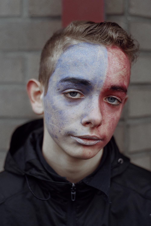 Boy, Dunkirk Carnival, France 2015