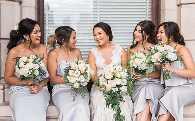 My beautiful bride Theresa & her bridesbabes / 💄 @makeupbygin_ & @julie_makeup / 💇🏻‍♀️ @kxhairdesign / @truphotography ⠀⠀⠀⠀⠀⠀⠀⠀⠀ #hudabeauty #anastasiabeverlyhills #dressyourface #wakeupandmakeup #vegas_nay #brian_champagne #laurag_143 #melbournemakeupartist #melbournemua #bridesmaid #bridalmakeup #wedding #weddingmakeup #weddingday