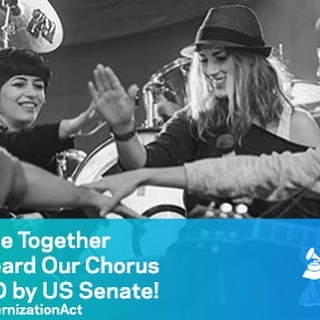 Today we all made music history! Thanks to our members' @GRAMMYAdvocacy efforts the #MusicModernizationAct PASSED THE SENATE. We did it!  https://www.grammy.com/advocacy/learn/music-modernization-act #IndieMusician #FairPayForPlay #GrammyMember #songwriter #wakingsleepingmaggy