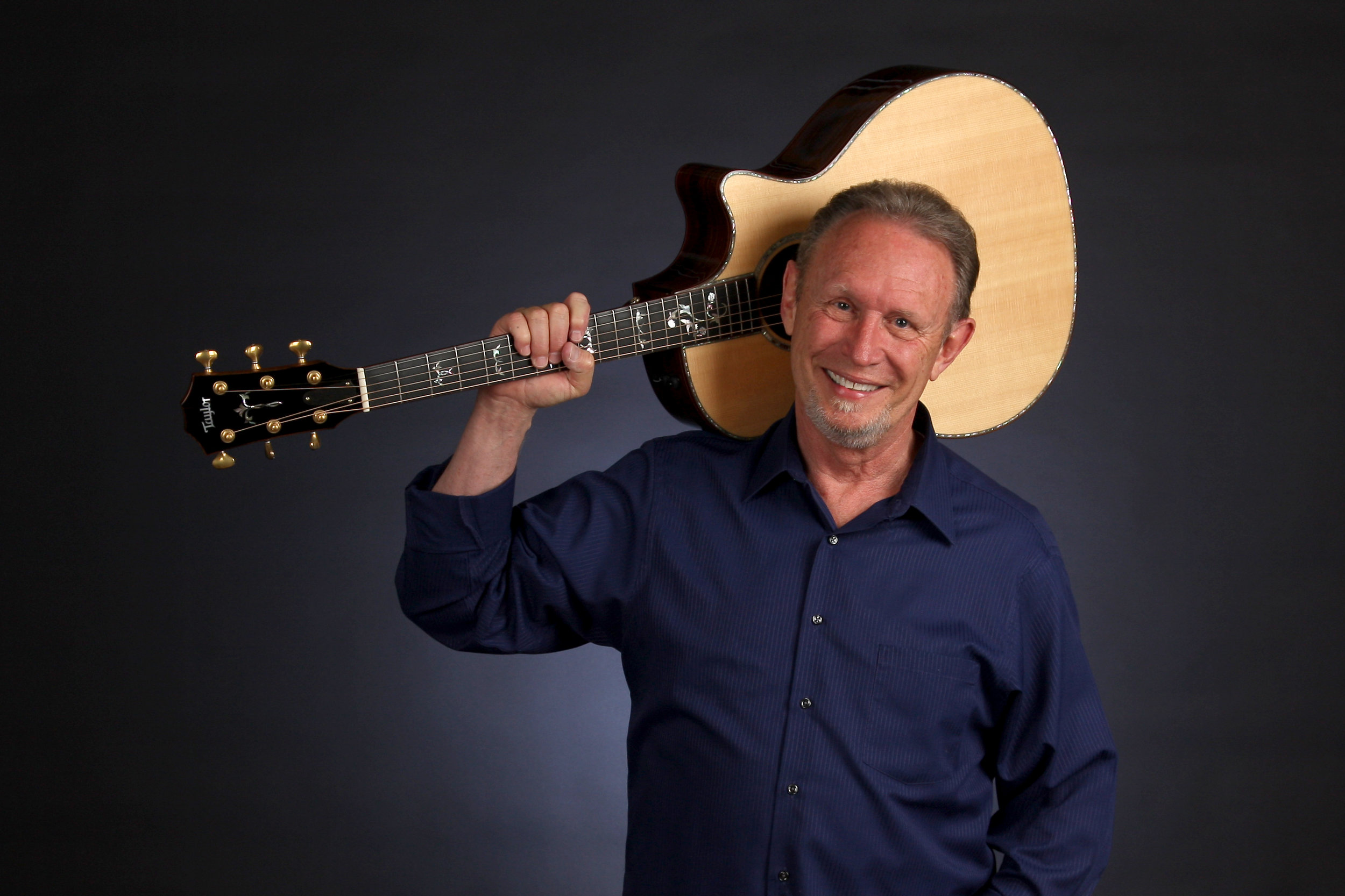 """Mark grew up in southern California where his major musical influences outside of church were Gordon Lightfoot, Bob Dylan, Peter, Paul and Mary, Paul Simon, the Beach Boys and pretty much any folk, folk rock or beach music. He relocated north of Boston, Massachusetts in the early 90's and considers himself and """"Noreasta""""."""