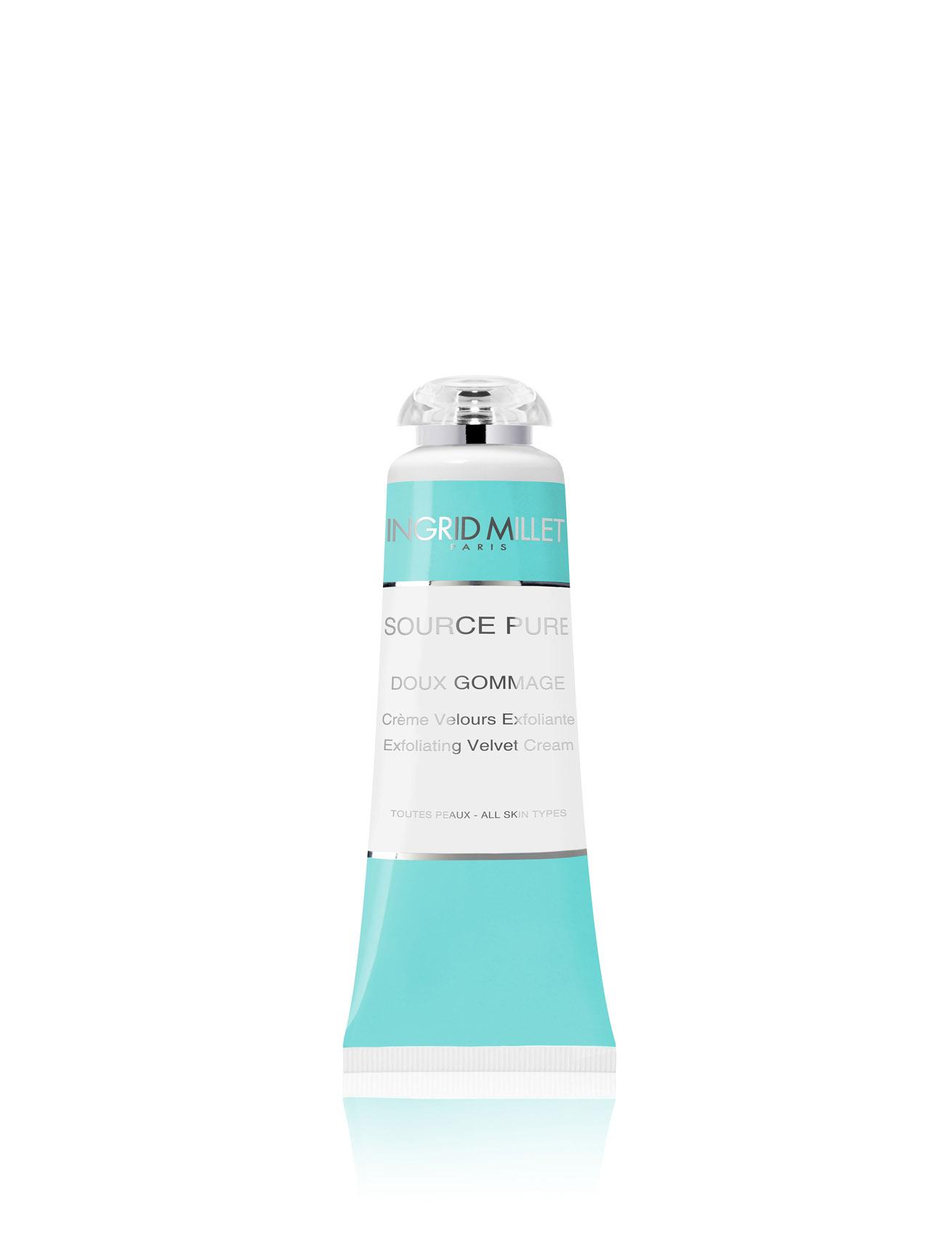 1-Doux-Gommage-Crema-esfoliante-vellutata-Ingrid-Millet-Linea-cosmetici-di-lusso-Source-Pure-Dispar-SpA copia.jpg