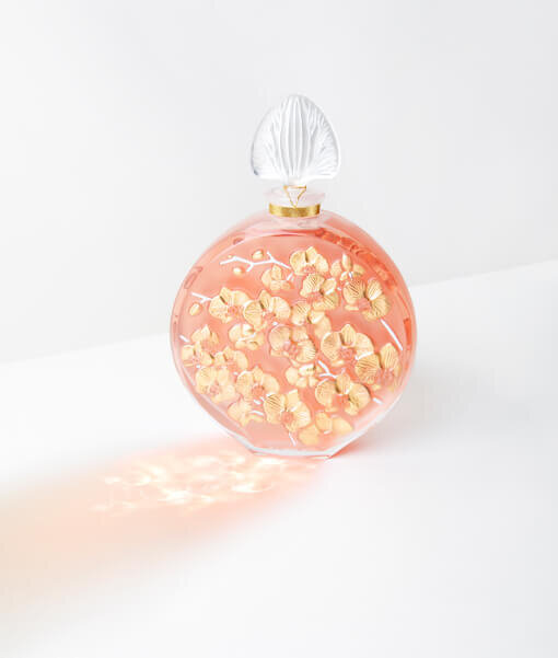 Lalique Limited Edition Orchidée Crystal
