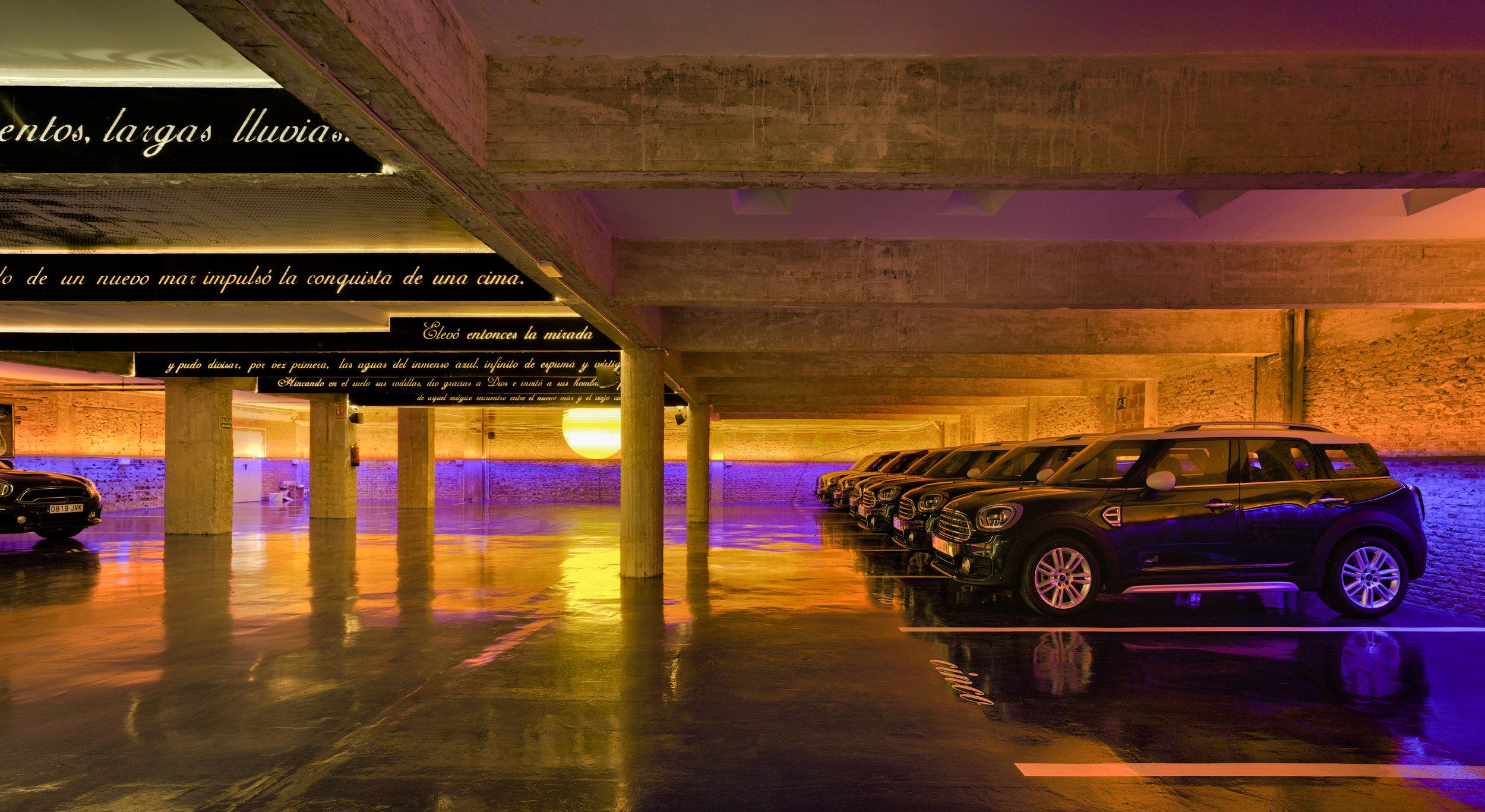 Lugar de aparcamiento del Nuñez de Balboa