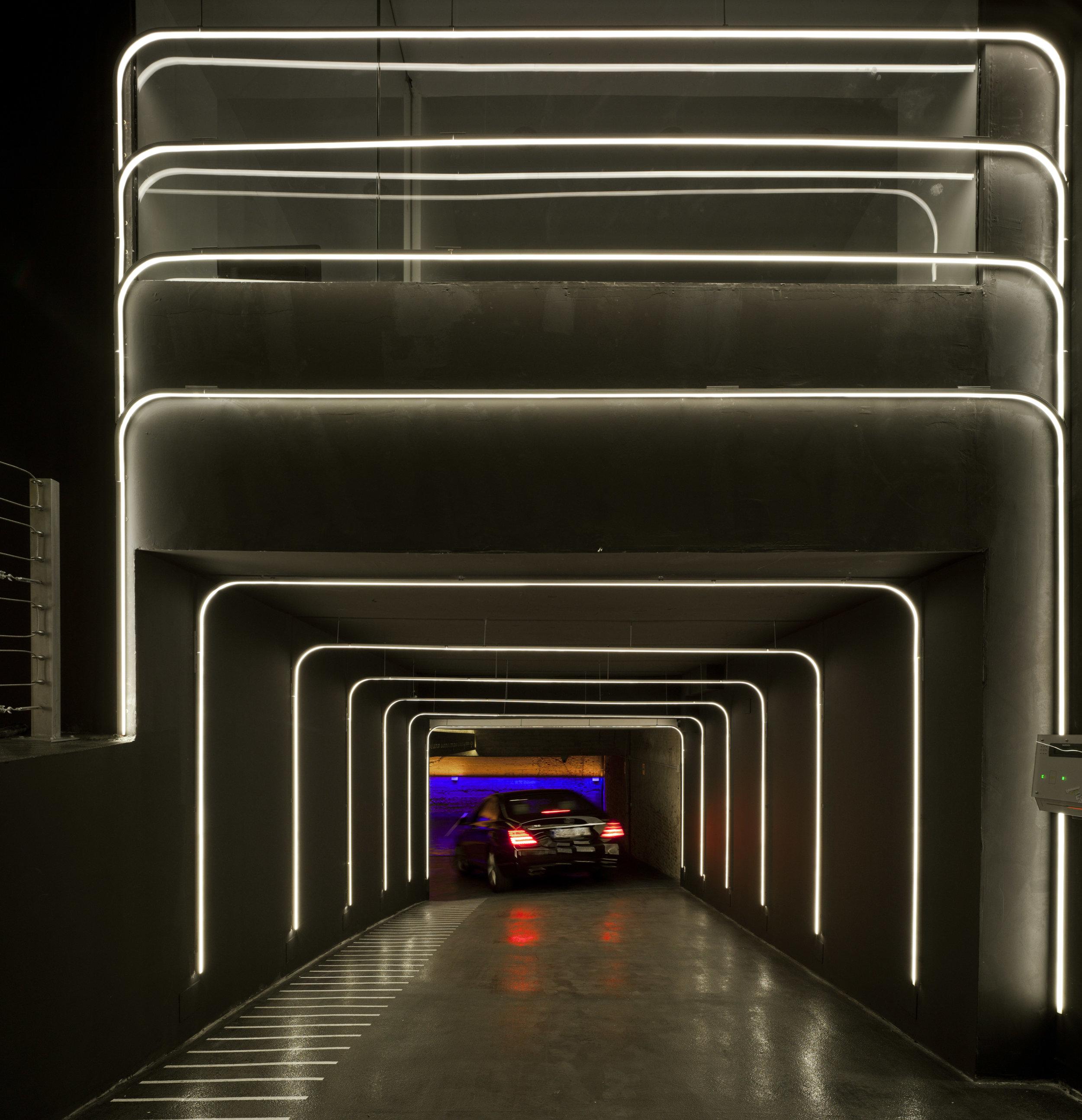 Túnel de entrada del Nuñez de Balboa