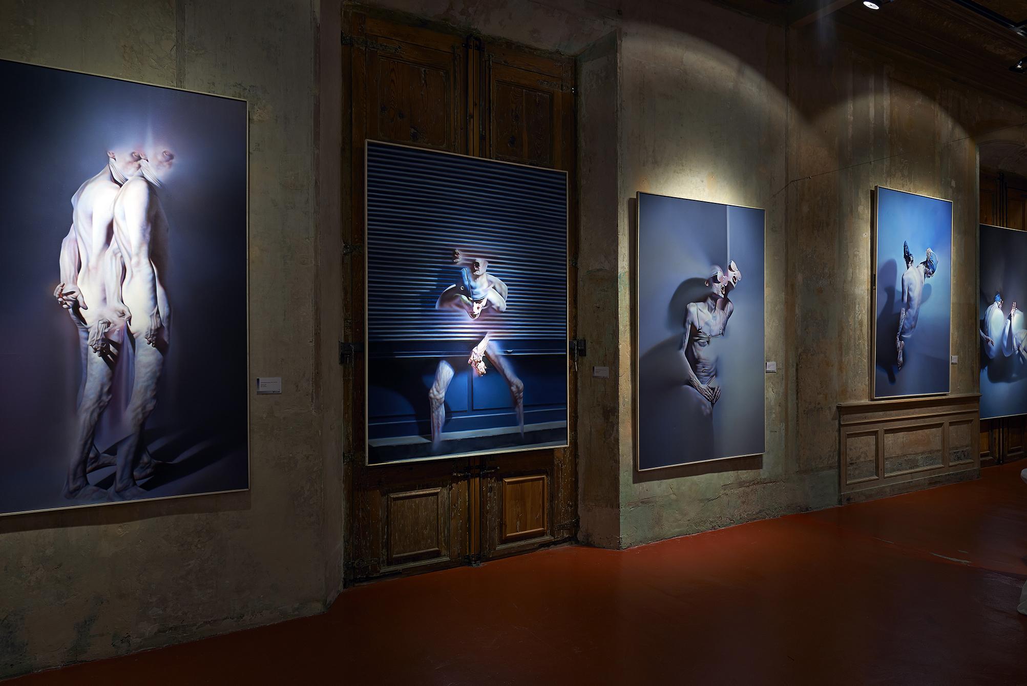 Exposición de arte de Istvan Sandofri.