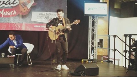Giò Sada ospite al Gran Shopping Music Festival