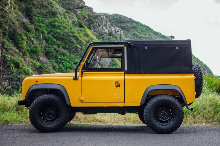 Land Rover Defender D90 photo gallery