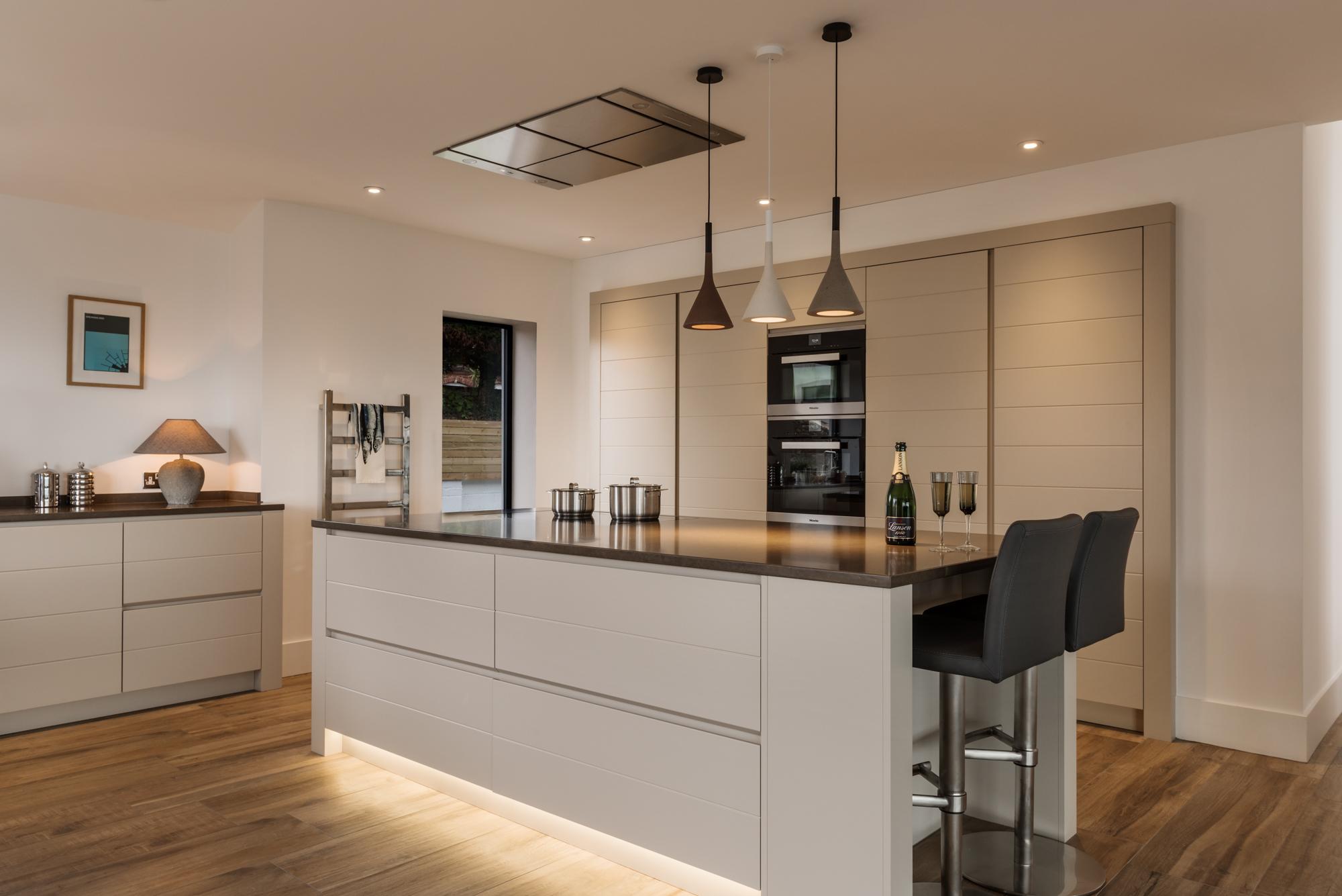 contemporary kitchen devon