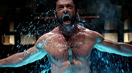 Hugh Jackman as the Wolverine in X-men 2 - What an animal