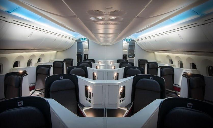 Avianca Boeing 787 business class cabin