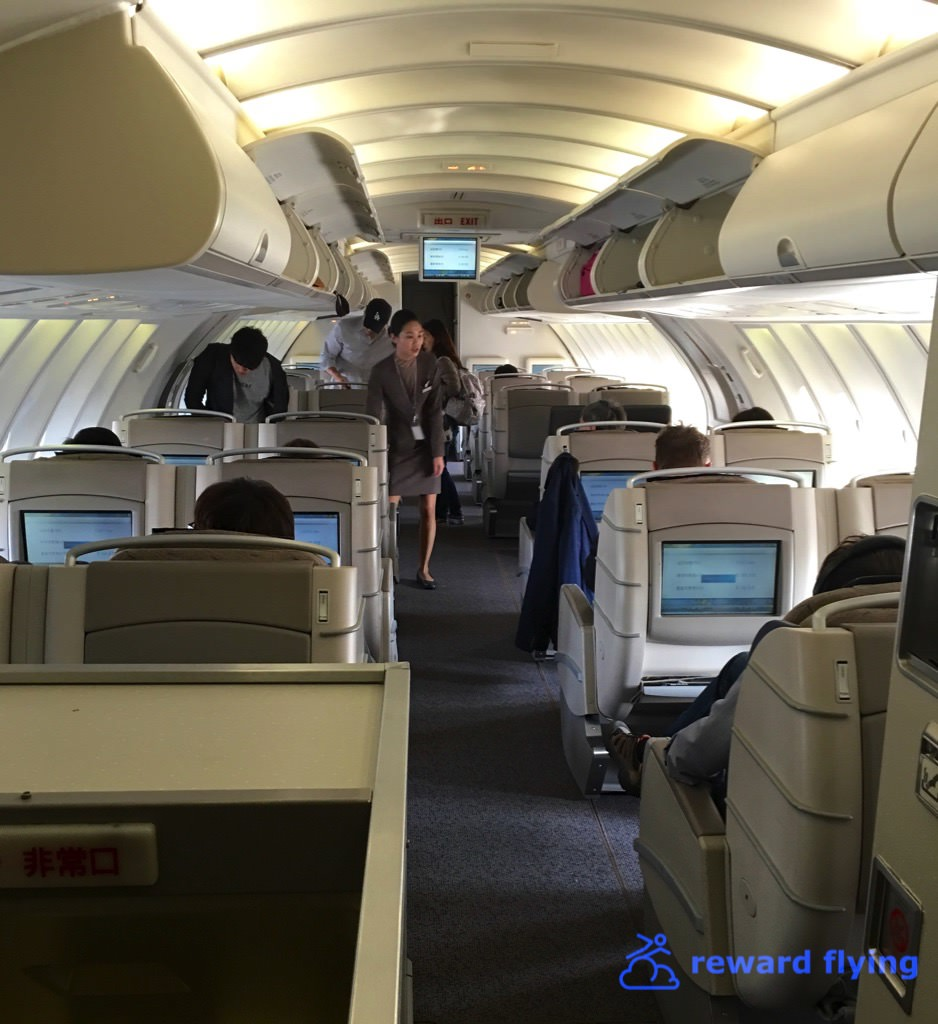 Upper Deck Business Class - Used as Economy on this flight