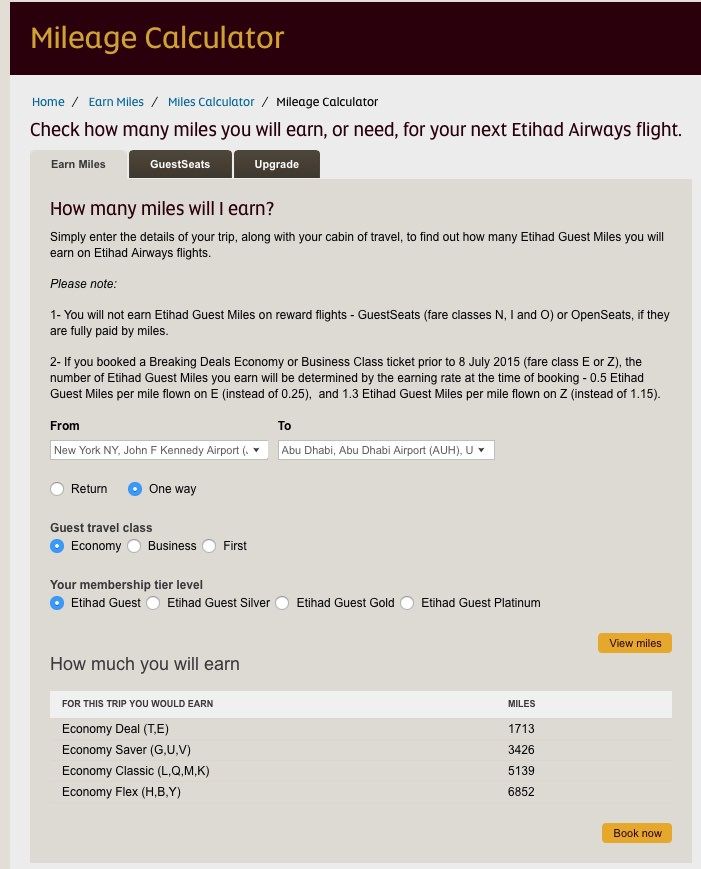 Etihad Guest — Reward Flying