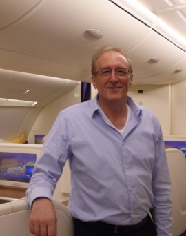 On Thai Airlines A380 - First Class