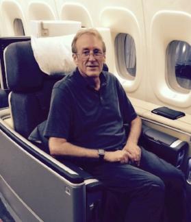 On Lufthansa B748i - First Class