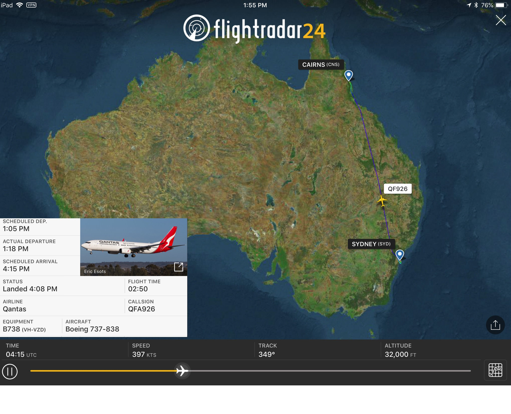 QF926 Flightpath.jpg