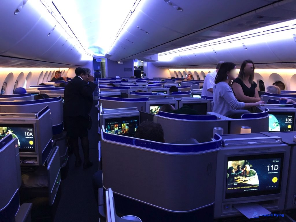 UA2418 Cabin Aisle Forward Blue light.jpg