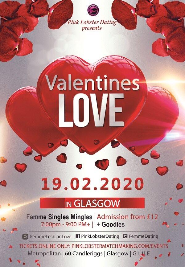 Glasgow, Lesbian, Femme, Scotland, Edinburgh, Christmas, Matchmaking, Dating, Love, Feminine Dating, events, fun