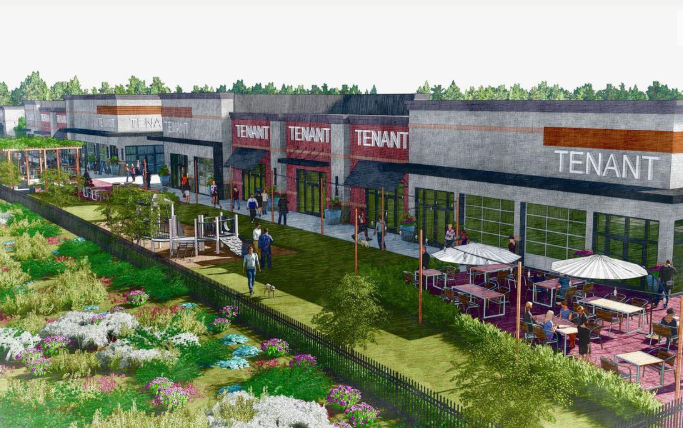 The proposed Charleston Town Center retail site in Palmetto Commerce Park in North Charleston will include three buildings with spaces for multiple tenants and an outdoor venue for art, performances or a farmers market. Provided/Atlas Capital Group   Click to read more   Source: The Post and Courier