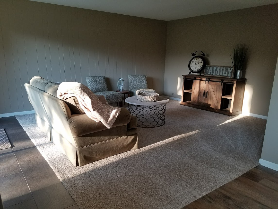 Copy of For Sale Home Bolingbrook, IL | Remodeling project built by Kure Construction in Naperville, IL.