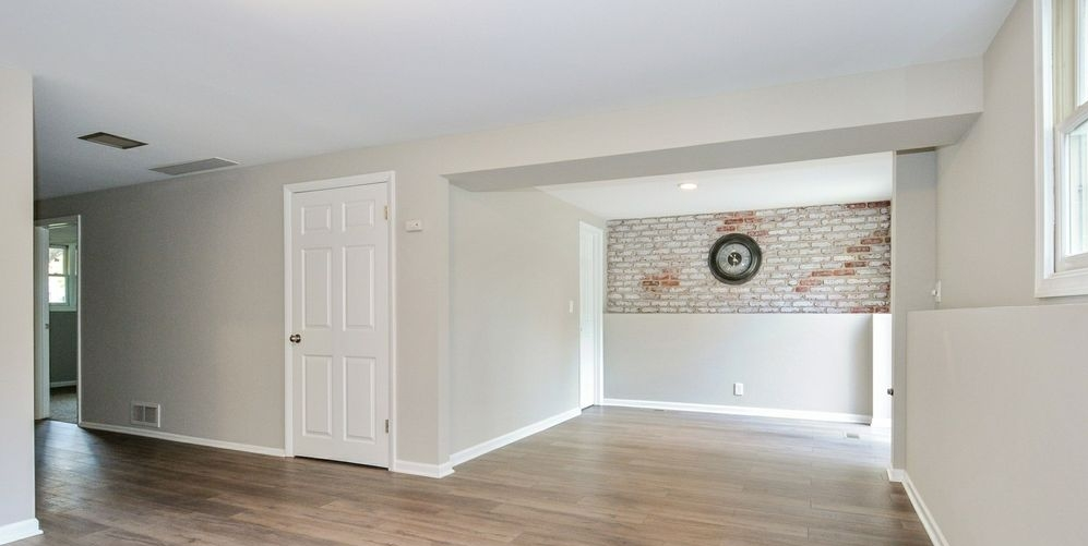 St. Charles, IL Home 1519 Jewel Avenue | Built By Kure Construction | Living RoomProject St. Charles, IL