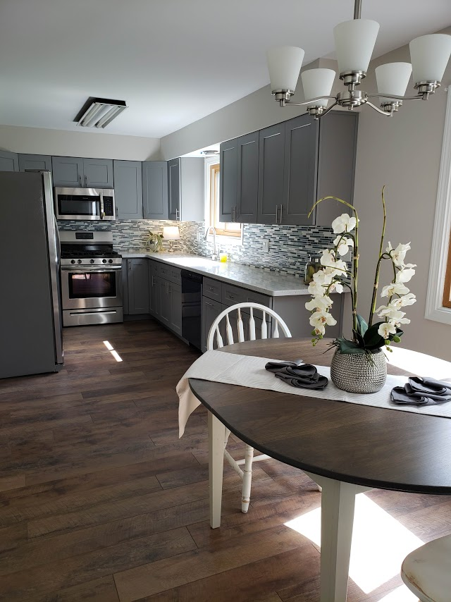 Kure Construction | Bolingbrook Flipped Kitchen