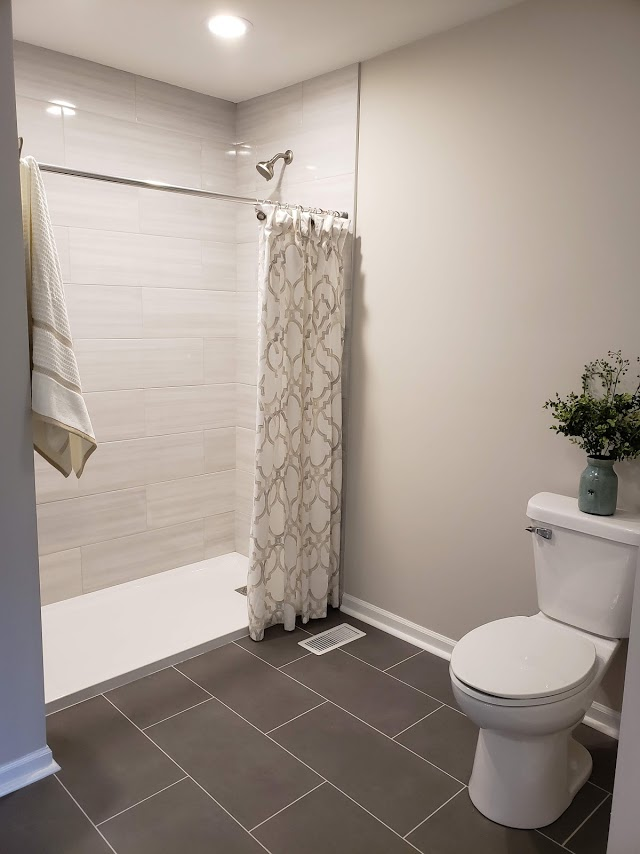 Kure Construction | Bathroom Flipped