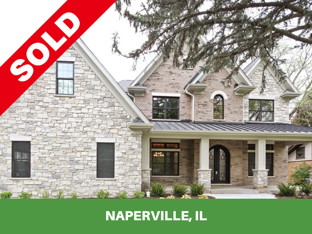 Kure Construction Inc. | Naperville Home Sold